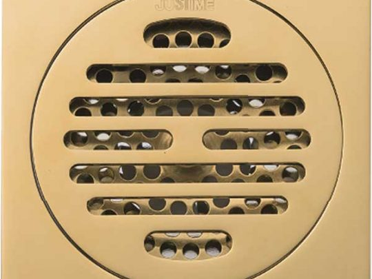 کفشوی 10x10 برنجی کد 62 طلایی