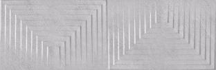 Vinaro Light Gray Decor 30*90